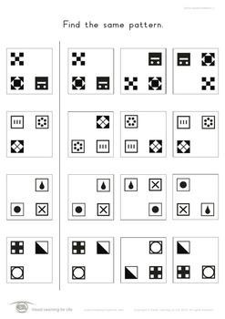 Same Spatial Patterns
