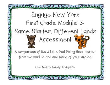 Same Stories, Different Lands- Little Red Riding Hood Assessment