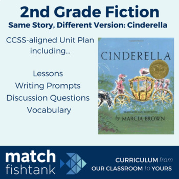 Cinderella Stories 2nd Grade Fiction Unit Lessons By Match