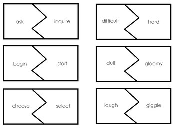 Same Synonym Puzzles
