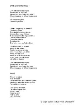 Same System Lyrics- Homology