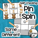 Same and Different - Self-Checking Math Centers