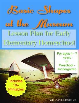 Basic Shapes Museum Lesson Plan Homeschool