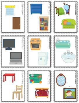 Same and Different Visuals, Task Cards, and Worksheets BUNDLE