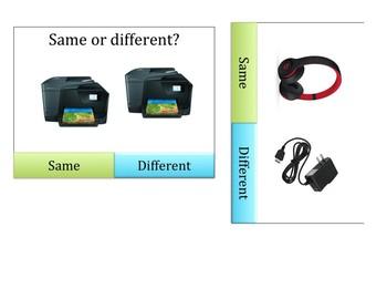 Same/different: Classroom technology