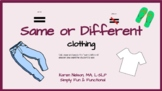 Same of Different: Clothing