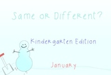 Same or Different? January