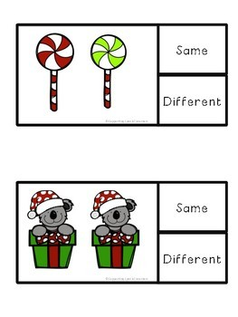 Same or Different - Winter Theme!
