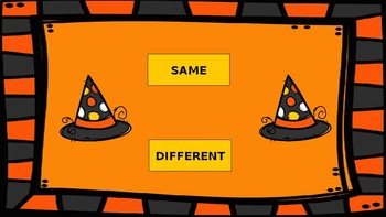 Same or Different Witch Hats