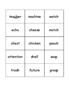 I READ Same sound Sort