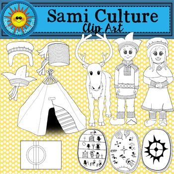 Sami Culture Clip Art