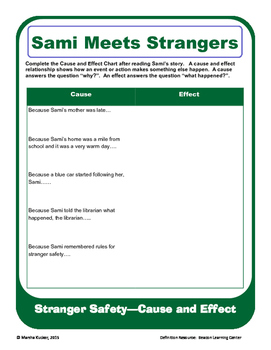 Stranger Safety:  Cause and Effect