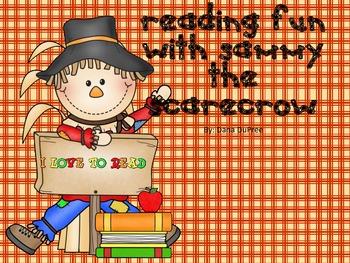 Sammy Scarecrow Literacy Centers