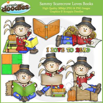 Sammy Scarecrow Loves Books