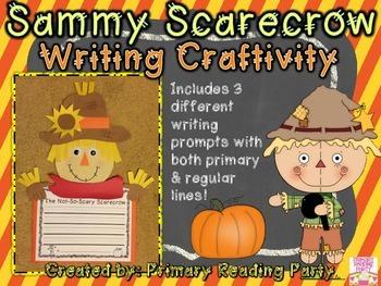 Sammy Scarecrow Writing Craftivity {Includes BONUS Graphic Organizers!}