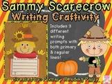 Sammy Scarecrow Writing Craftivity {Includes BONUS Graphic