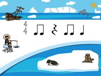 Sammy the Seal's Poison Pattern - A Bundle of 4 Games to Practice Rhythm
