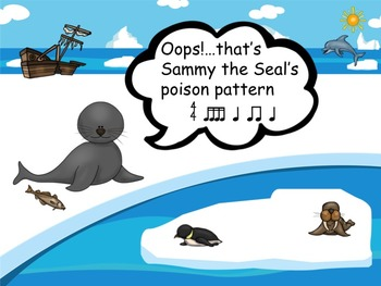 Sammy the Seal's Poison Pattern - A Rhythm Game to Practice Sixteenth Notes