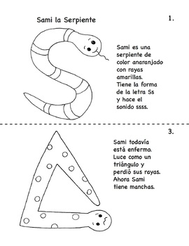 Sammy the Snake Gets Sick A Bilingual Phonemic Awareness Story
