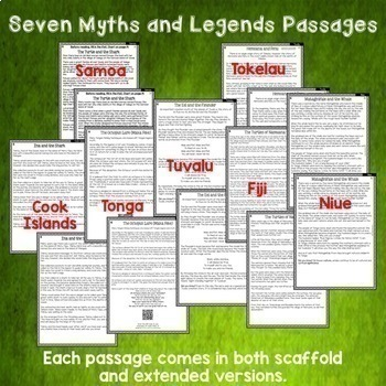 Sāmoa Literacy BUNDLE Reading Writing Thinking and Classroom Display