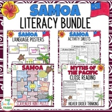 Samoa Reading Writing Thinking and Classroom Display Bundle