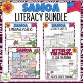 Sāmoa Literacy BUNDLE Reading Writing Thinking and Classro