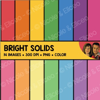 FREE Bright Color Backgrounds