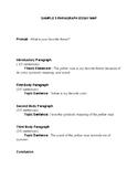 Sample 5 Paragraph Essay Map