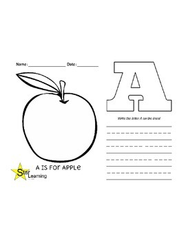 Sample ABC's Packet