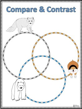 "Sample Activity From ""Life In The Arctic""  Polar Bears, Arctic Foxes, Lemmings"