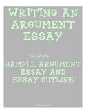 Sample Argument Essay & Essay Outline