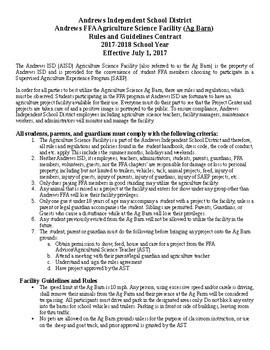 Sample Barn Contract