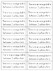 Sample Beginning of the Year Math Journals