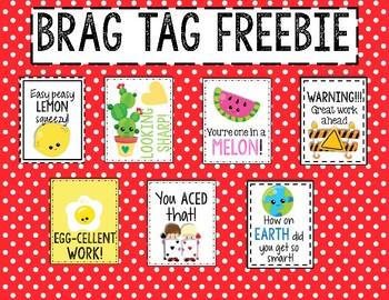 Sample Brag Tag Freebie