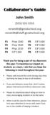 Sample Collaborator Guide