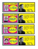 Sample Computer License