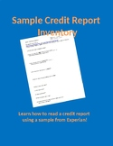 Sample Credit Report Questionaire