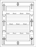 Freebie Custom Religious Handwriting Creative Writing Paper Sample