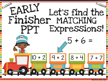 Sample Early Finisher PPTS