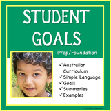 FREE Sample Distance Learning Goals for the Aus Curriculum