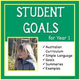 Sample Education Goals for the Australian Curriculum - Year 1