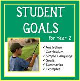 Sample Education Goals for the Australian Curriculum - Year 2