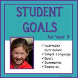 Sample Education Goals for the Australian Curriculum - Year 3