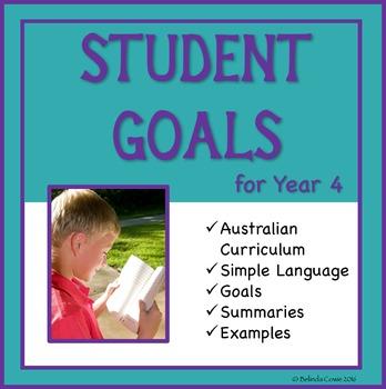 Sample Education Goals for the Australian Curriculum - Year 4