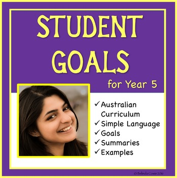 Sample Education Goals for the Australian Curriculum - Year 5