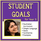 Sample Education Goals for the Australian Curriculum - Year 5