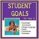Sample Education Goals for the Australian Curriculum - Year 6
