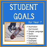 Sample Education Goals for the Australian Curriculum - Year 7