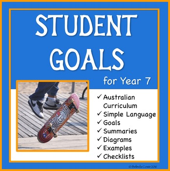 Sample Education Goals for the Australian Curriculum - Year 7