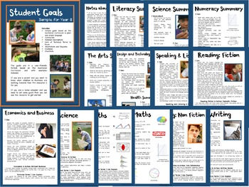 Sample Education Goals for the Australian Curriculum - Year 7 and Year 8 Bundle
